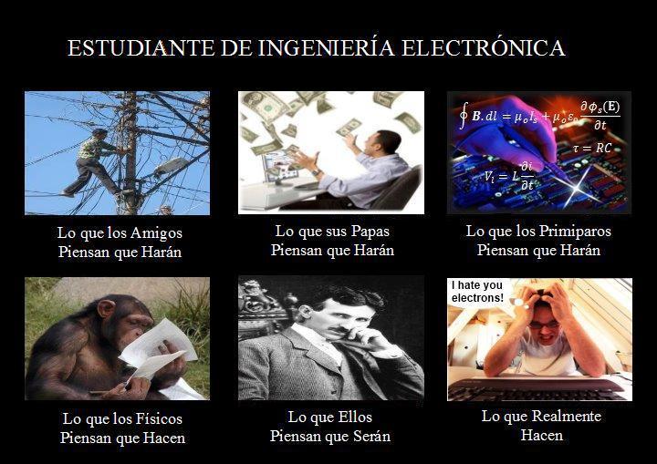 memes de ingenieros - electronica