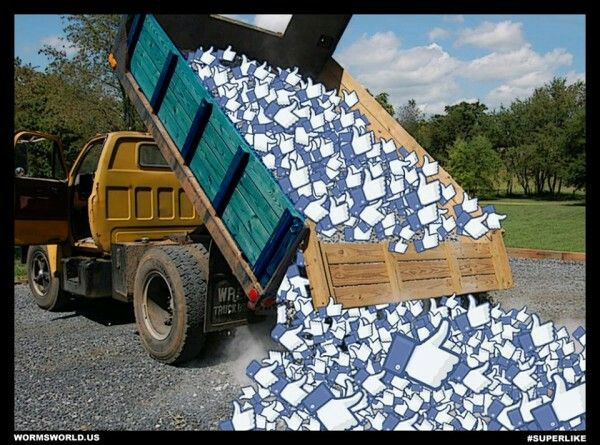 memes de likes - caminion de like