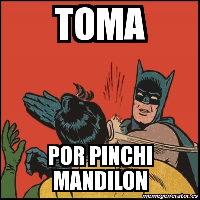 memes de mandilones - batman y robin