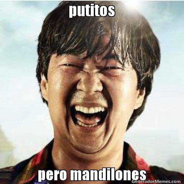 memes de mandilones - chino