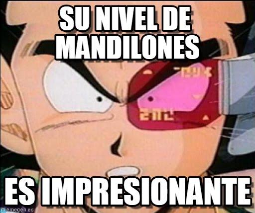 memes de mandilones - dragon ball
