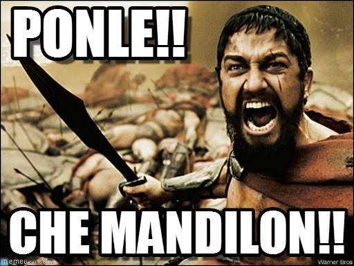 memes de mandilones - leonidas