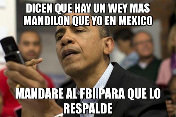 memes de mandilones - obama
