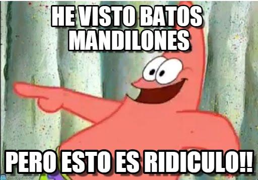 memes de mandilones - patricio