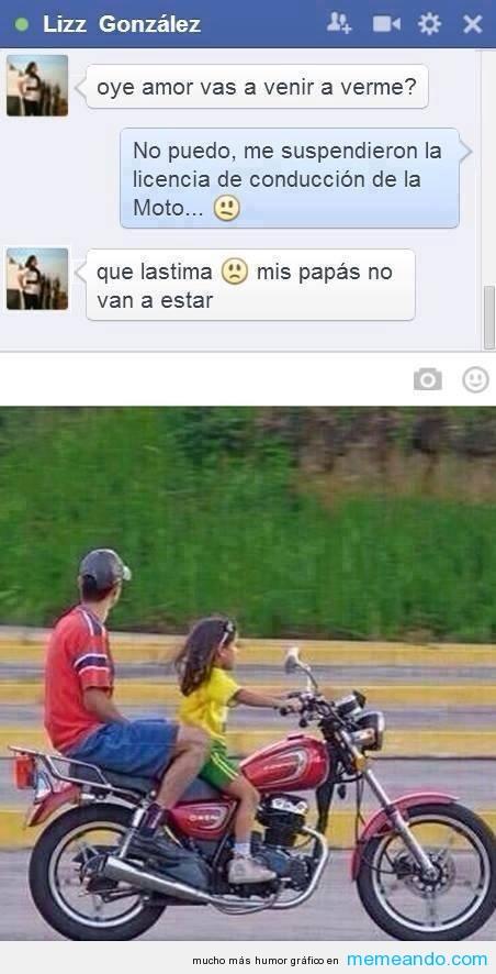 memes de motos - chiste