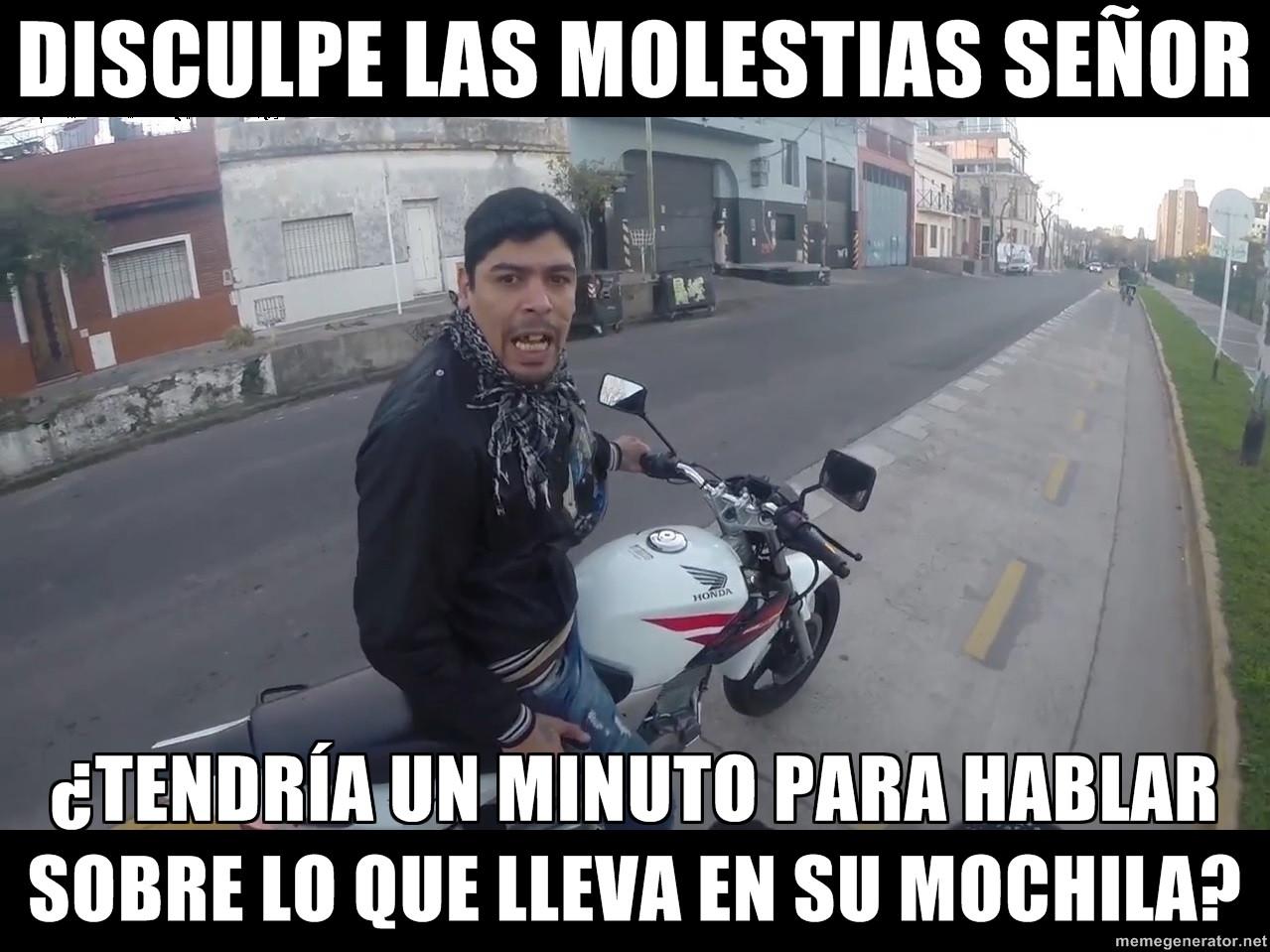 memes de motos - ladron
