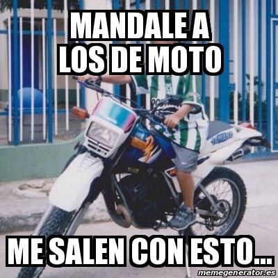 memes de motos - mandale