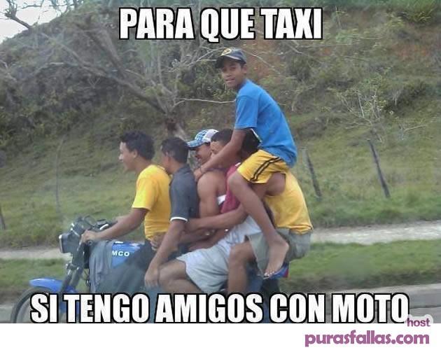 memes de motos - para que taxi