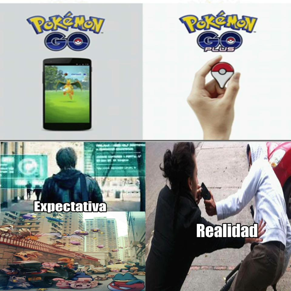 memes de pokemon go - espectativa
