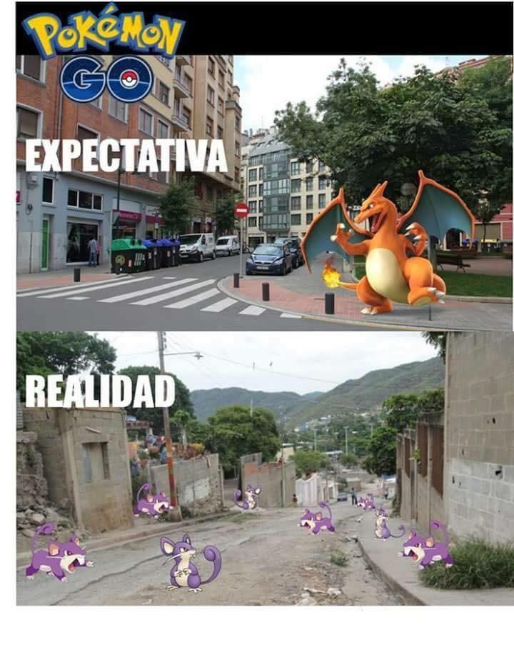 memes de pokemon go - expectativa