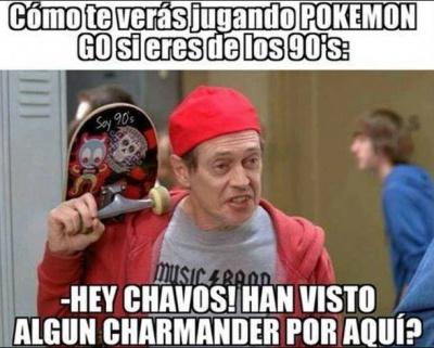 memes de pokemon go - jugando pokemon