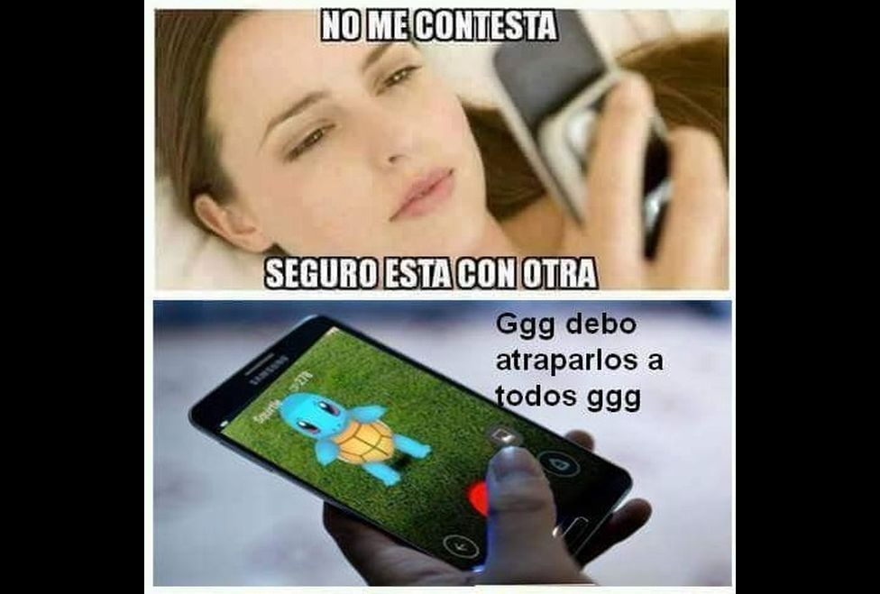 memes de pokemon go - no contesta