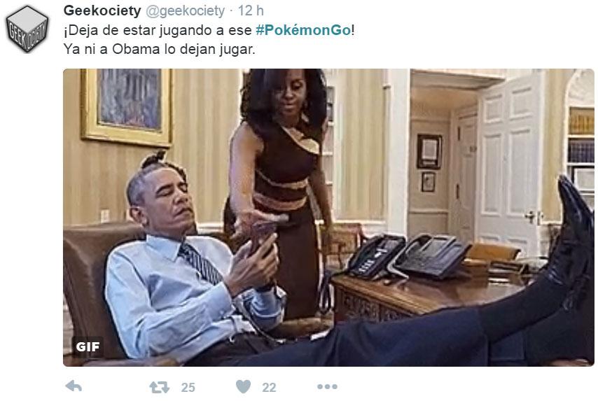 memes de pokemon go - obama