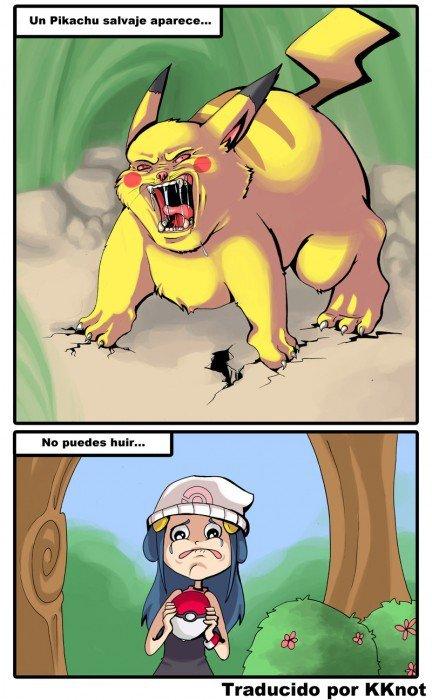 memes de pokemon go - un picachu