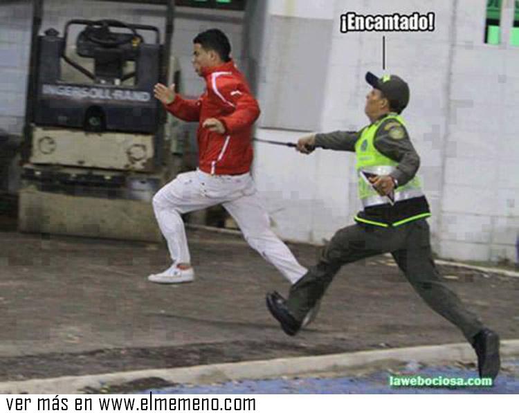 memes de policias - encantado