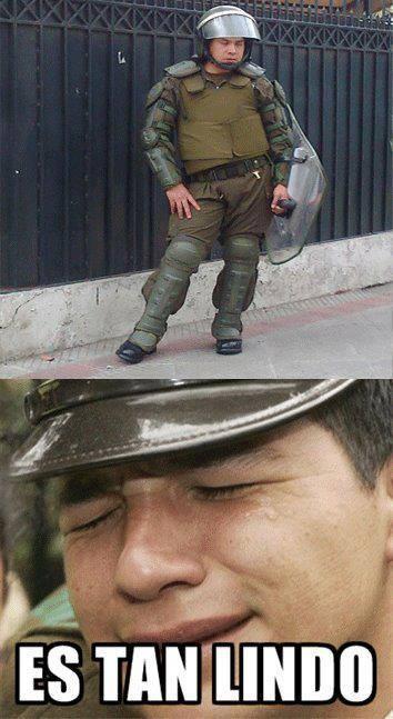 memes de policias - es lindo