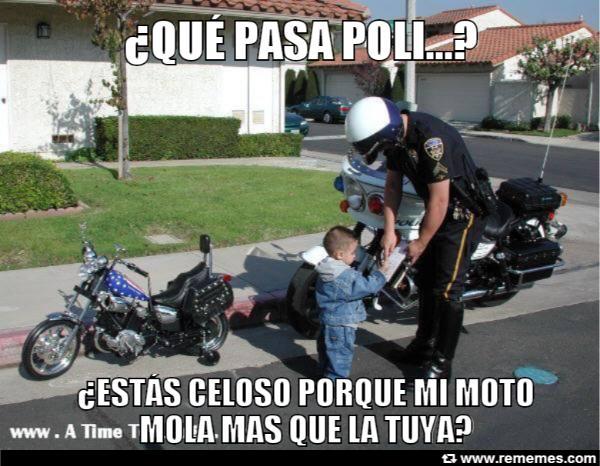 memes de policias - graciosa