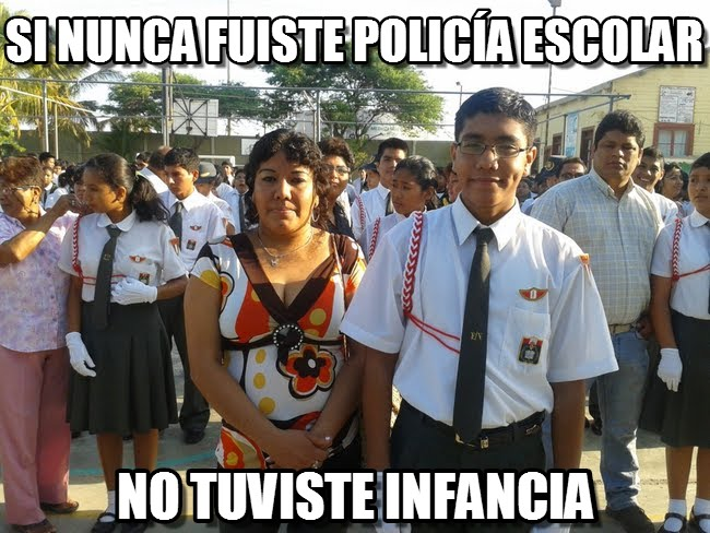 memes de policias - policia escolar