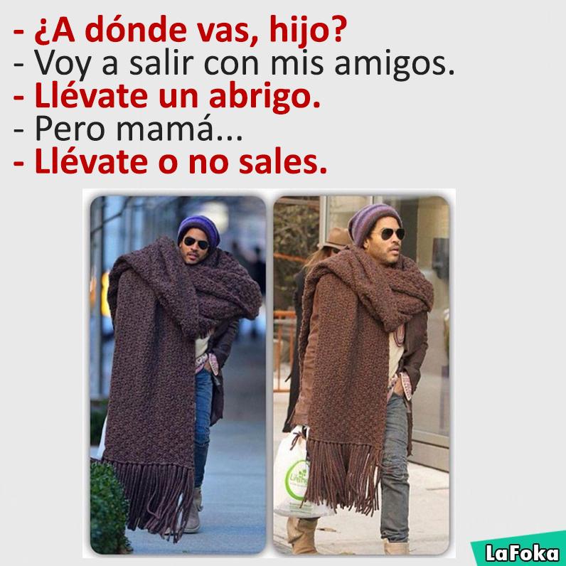 imagenes y memes chistosos 2016 - ridiculo abrigo