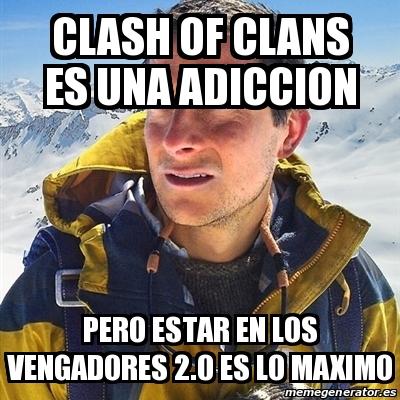 memes de clash of clans - adicto al juego