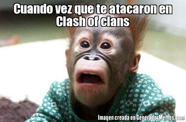 memes de clash of clans - monito
