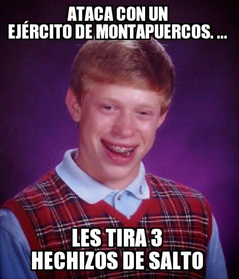 memes de clash of clans - montapuercos