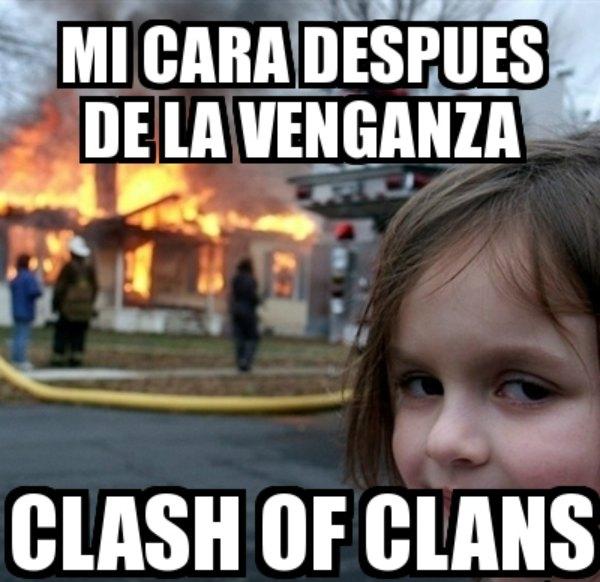memes de clash of clans - venganza