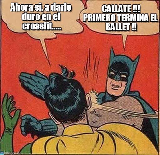 memes de crossfit - batman y robin