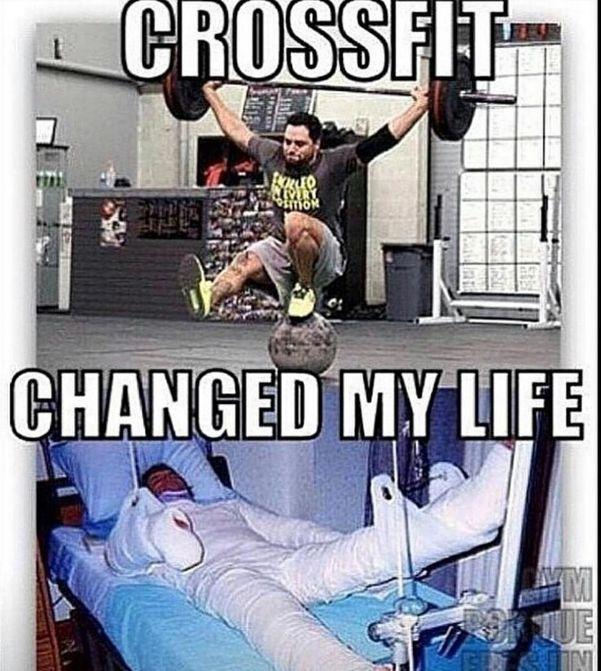 memes de crossfit - cambio mi vida