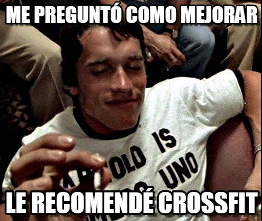 memes de crossfit - como mejorar