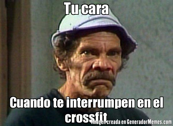 memes de crossfit - dond ramon
