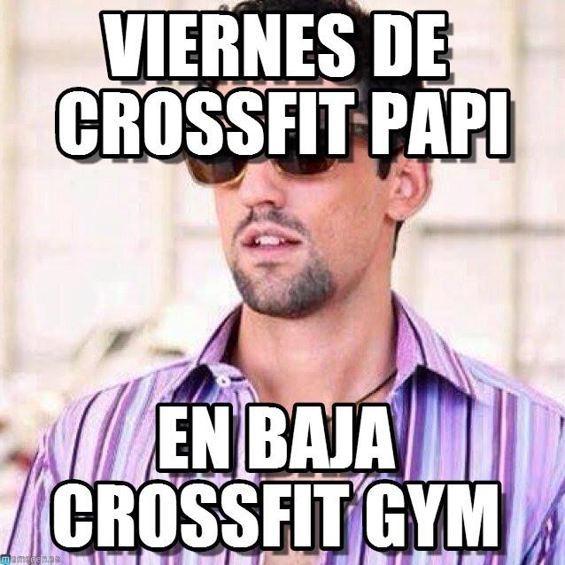 memes de crossfit - viernes