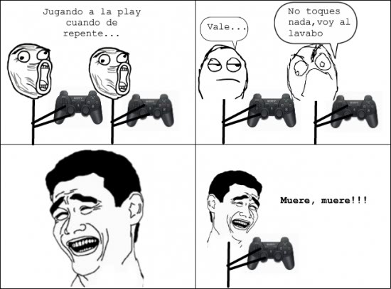 memes de gamers - con amigo