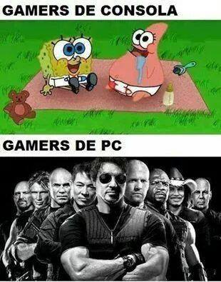 memes de gamers - gamers de consola