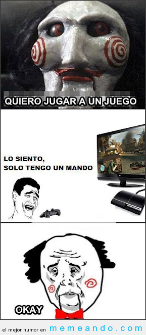 memes de gamers - saw