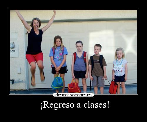 memes de regreso a clases - madre e hijos