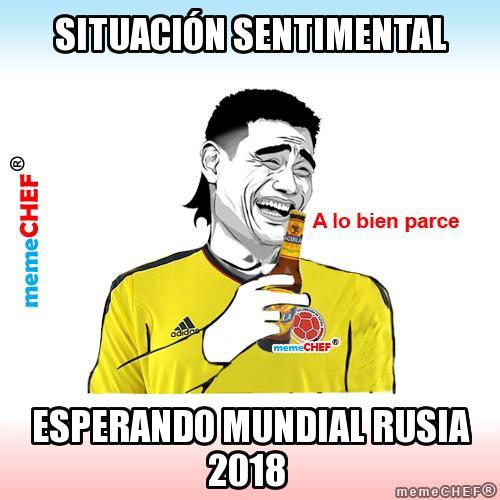 memes de situacion sentimental - esperando el mundial