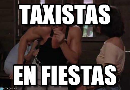 memes de taxistas - en fiestas