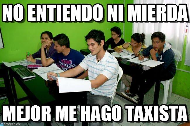 memes de taxistas - no entiendo