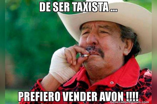 memes de taxistas - prefiero vender avon