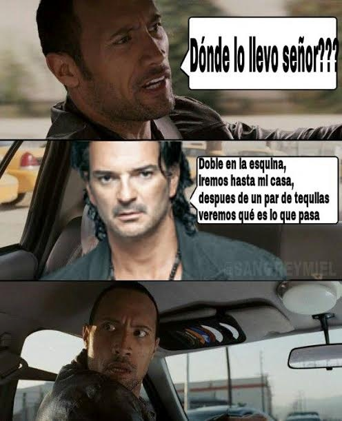 memes de taxistas - the rock y arjona