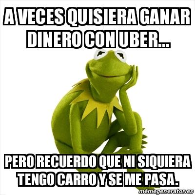 memes de taxistas - uber