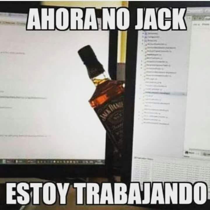 memes de tomar - ahora no jack