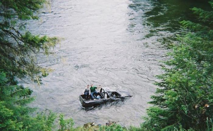 imagenes raras y graciosas a la ves - en el rio