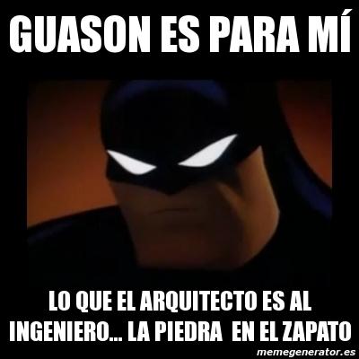 memes de arquitecto - batman
