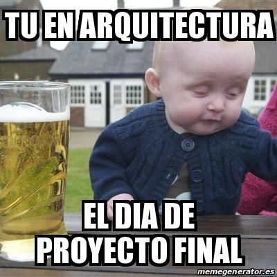memes de arquitecto - dia del proyecto