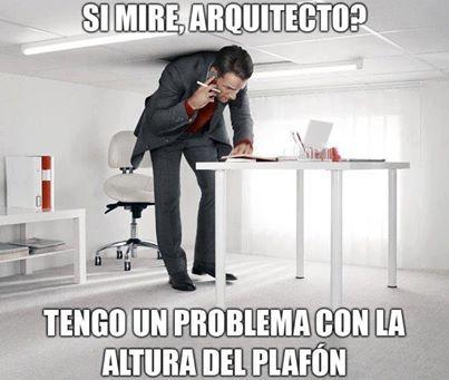 memes de arquitecto - error