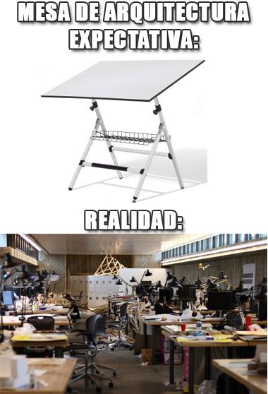 memes de arquitecto - mesa de arquitectura