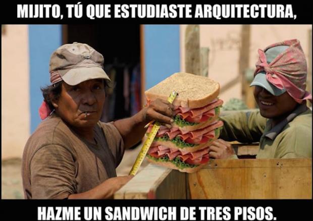 memes de arquitecto - tu que estudiaste
