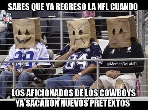 memes de vaqueros - cowboys fans